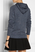 Alexander Wang Hooded fleece top