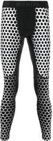Hydrogen dotted performance leggings