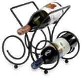 Spectrum SpectrumTM Bordeaux Black 3-Bottle Wine Rack