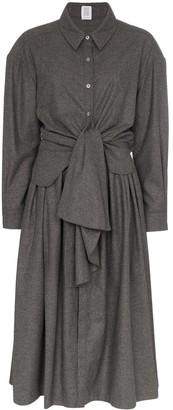 Rosie Assoulin knotted shirt dress