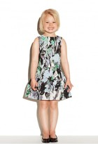 Milly Minis Painted Floral Bow Party Dress