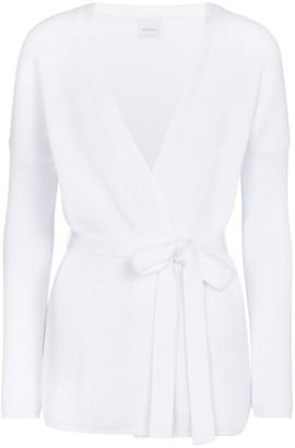 Max Mara Leisure Cavallo belted cotton-blend cardigan
