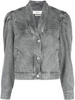 Etoile Isabel Marant Hacene acid wash jacket