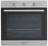 Hotpoint SA3330H Built-In Electric Single Oven, Inox