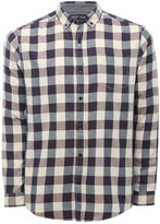 M&Co Plum check long sleeve shirt