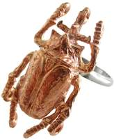 Malia Jewelry Rose Gold Beetle Ring