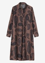Toast Srinagar Paisley Print Dress