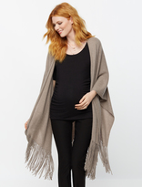A Pea in the Pod 360 Cashmere Fringe Maternity Cardigan