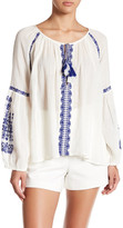 Gypsy 05 Gypsy05 Embroidered Romantic Raglan Blouse