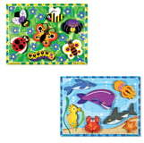 Melissa & Doug Sea Life and Insect Puzzles