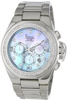 Freelook Women's HA5303M-6PX Aquamarina II Stainless Steel Blue Mother of Pearl Dial Swarovski Bezel Watch