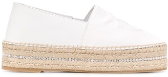 Pinko Bird Detailed Espadrilles