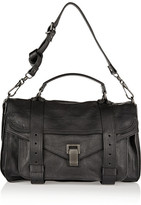 Proenza Schouler The Ps1 Medium Leather Satchel - Black