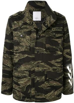 Ports V Camouflage Windbreaker Jacket