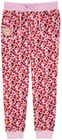 Juicy Couture Girls Fashion Track Marina Floral Terry Pant