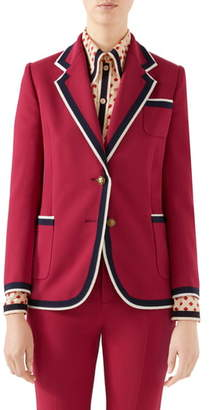 Gucci Stretch Cady Jacket
