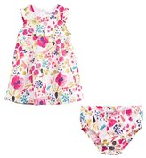 Catimini Floral Printed Dress with Knickers