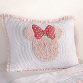Disney Minnie Mouse Really Ruffle Sham by Ethan Allen
