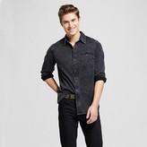Men's Knit Denim Shirt Black - Mossimo Supply Co.