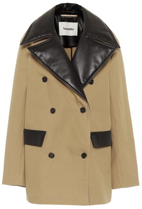 Nanushka Tommi cotton canvas jacket