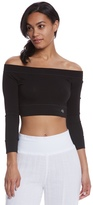 Mika Yoga Wear Chloe Cotton Crop Long Sleeve 8160973