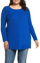 Vince Camuto Textured Sweater (Plus Size)