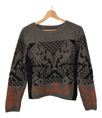 Antik Batik Grey Wool Knitwear