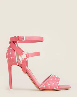 Valentino Studded Harness Leather Sandals