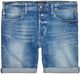 Replay 901 Light Blue Denim Shorts