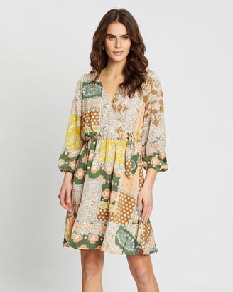 Y.A.S Sari Wrap Dress