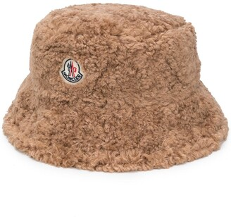 Moncler Logo Patch Bucket Hat