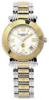 Charriol Parisii Medium Round Yellow Gold Plated Watch, 33mm
