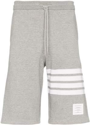 Thom Browne 4-stripe jogger short