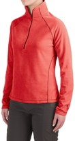 White Sierra Alpha Beta Fleece Shirt - Zip Neck, Long Sleeve (For Women)
