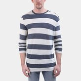 ATM Anthony Thomas Melillo Rugby Stripe Long-Sleeve Crew Neck Tee