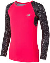 New Balance Girls' Performance Top