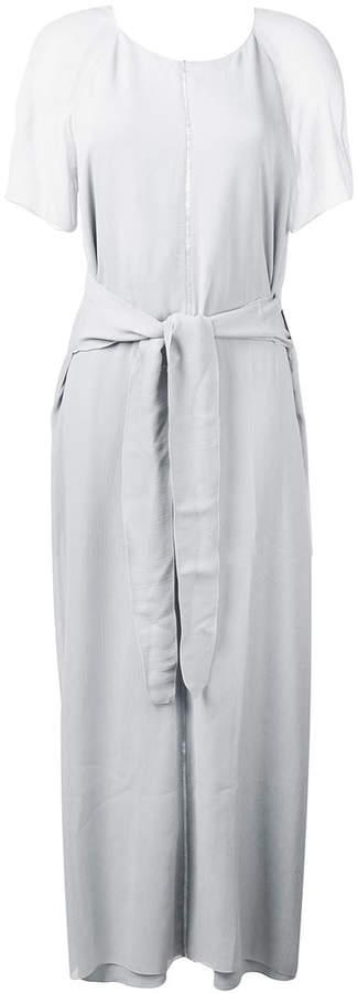 Lorena Antoniazzi tie waist long dress