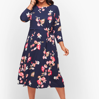 Talbots Jersey Midi Dress