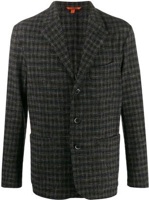 Barena Check Tailored Blazer