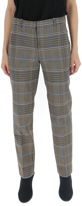 Givenchy Checked Cigarette Trousers