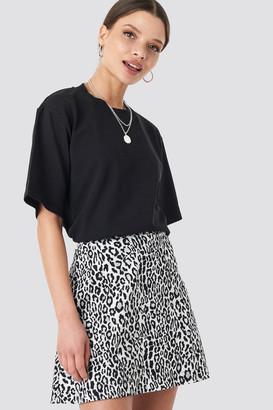 NA-KD Leopard Print Mini Skirt Multicolor