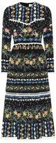 Erdem Georgie printed silk crepe dress