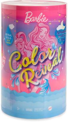 Mattel Barbie(R) Color Reveal Slumber Party Set with 50 Surprises