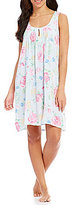Miss Elaine Floral Keyhole Nightgown