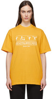 Sporty And Rich Sporty and Rich Yellow Health and Wellness T-Shirt