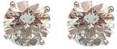 Tiffany & Co. Platinum & 4.43ctw Diamond Stud Earrings