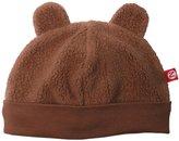 Zutano Itzy Bitzy Cozie Hat - Chocolate-0-3 Months