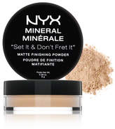 NYX Mineral Matte Finishing Powder - Light Medium