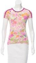 Etro Floral Print Short T-shirt