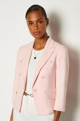 Karen Millen 3/4 Sleeve Occasion Jacket